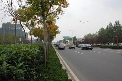 合安路出城口道路改建项目