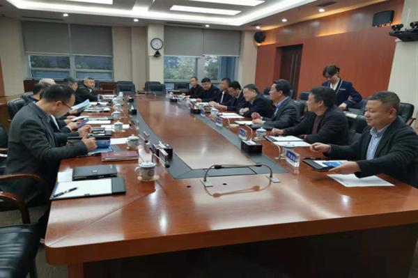 娱乐老虎机联合陕煤建设集团共同拜访重庆高速公路集团,共商投资合作,共谋发展多赢